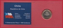 """Chile 100 Pesos 2006 """"MAPUCKE"""" In Bilster, UNC. - Chili"""