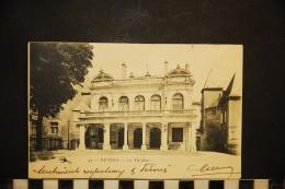 CP, 58, NEVERS Le Théâtre N° 42 Dos Simple Voyagé En 1904 - Nevers