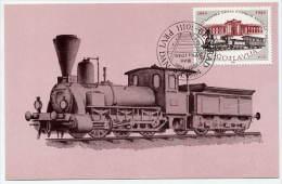 YUGOSLAVIA 1984 Serbian Railway Centenary 5d On Maximum Card.  Michel 2044 - Maximum Cards