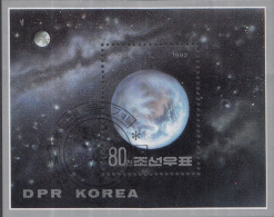 Noord-Korea - Planeten - Michel Block 274 - FD-stempel - Korea (Noord)