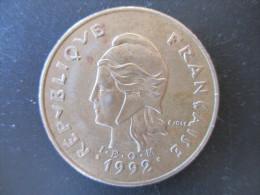 100 Francs 1992, Polynésie Française, TTB - Polynésie Française