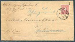 1887 Beuthen Oberschlesien Kong.brief - Gross-Dombrowka Upper Silesia - Lettres & Documents