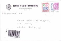 SANTO STEFANO TICINO - 20010 - PROV. MILANO - R - 2004  - FTO 12X17 - TEMATICA TOPIC STORIA COMUNI D´ITALIA - Affrancature Meccaniche Rosse (EMA)