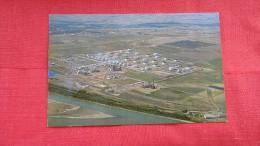 Standard Oil Co Refinery City Of Mandan ND In Backround------   ----------        ----1842 - Mandan