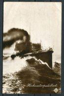 1910 Germany S.M.S. Torpedoboat Kaiserlichen Marine Feldpost Postcard - Warships