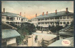 Japan Kyoto Hotel Advertising Postcard - Kyoto