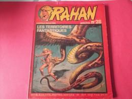 RAHAN N°28   NOUVELLE COLLECTION   ED.VAILLANT 1982      LES TERRITOIRES FANTASTIQUES - Rahan