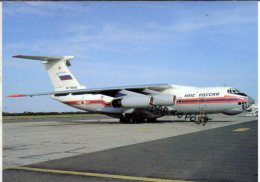 Aerei Russie Ilyushin IL-76TD Airlines MCS Rossiji Airways IL.76 Aereo Avion Aircraft Aviation IL76 Russia - 1946-....: Moderne