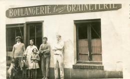 BOULANGERIE GRAINETERIE LENOIR(CARTE PHOTO) - Commerce