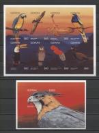 Guyana Birds Owls Eagle Parrots Oiseaux Pájaros Vögel  1996 Imp. MNH - Uilen