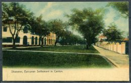 Shameen, European Settlement In Canton, China Sternberg Postcard - China