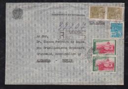Brazil Brasil 1937 Registed Airmail Cover From President Da Republica To Berlin Germany - Brésil