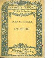 XAVIER DE MAGALON  L OMBRE COLL JOACHIM GASQUET  1921 2 DESSINS - Poésie