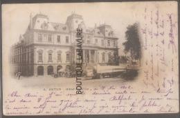 71 - AUTUN--Hotel De Ville--marché--précurseur - Autun