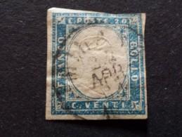 Italie - Sardigne - Lot De Timbre(s)  Oblitéré(s)  - Très Bon état Voir 1 Scan(s) (bleu Cobalt 125€ Cv) - Sardegna