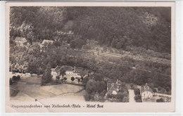Flugzeugaufnahme Von Kaltenbach / Pfalz - Hotel Post - 1943 Bahnlinie / Eckschaden Unten Links - Pirmasens
