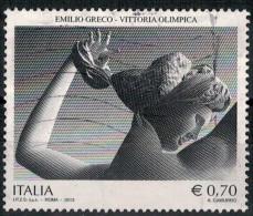 """(us)  -  ITALIA --- Uni. N° 3470   -2013- """"ANNULLATI/USED""""    [COME LA FOTO] - 2011-...: Usati"""