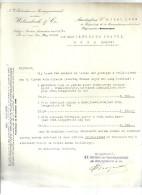 AMSTERDAM  WELZENBACH & C°     14.06.1933 - Pays-Bas