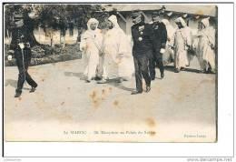 MAROC RECEPTION AU PALAIS DU SULTAN - Morocco