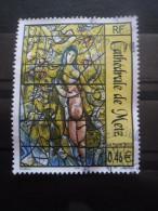 France N°3498 VITRAIL De La Cathédrale De Metz Oblitéré - Glas & Brandglas