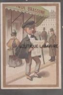 47 - A LA PALETTE D´OR--LAURENT & FILS--Peinture Rue Montesquieu 28 Et Place De La Petite Chapelle- AGEN - Trade Cards