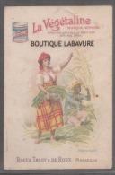 13 -CHROMOS PUB --La Vegetaline--ROCCA TASSY DE ROUX Marseille--martinique - Trade Cards