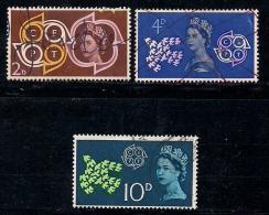 UK 1961 Used Stamp(s) Europa Nrs. 346-348 - 1952-.... (Elizabeth II)