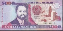 Mozambique 5000 Meticais 1991 P136 UNC - Mozambique