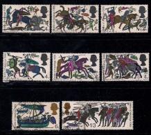 UK 1966 Used Stamp(s) Battle Of Hastings Nrs. 434-441 - 1952-.... (Elizabeth II)