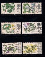 UK 1967 Used Stamp(s) British Wild Flowers Nrs. 446-451 - 1952-.... (Elizabeth II)