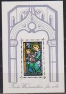 Berlin 1977 Mi-Nr.560 Block 6  ** Postfr.  Weihnachten ( 2354 ) - Unused Stamps