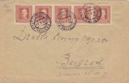 22.01.1918  -  Bedarfsbeleg, Gelaufen V. Valjevo Nach Belgrad  -  Siehe Scans  (bh 1004) - Covers & Documents
