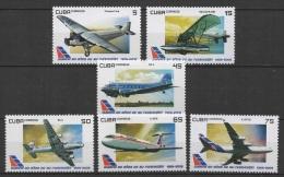 C* (2009) Yv. 4750/55  /  Airplane - Avion - Aircraft - Aviones