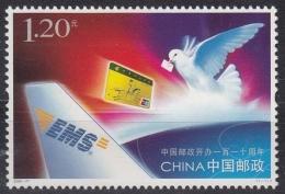China MiNr. 3821 ** 110 Jahre Post - 1949 - ... Repubblica Popolare