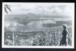 Cpa Carte Photo Des Philippines  - Lake Taal -     FRM 5 - Philippines