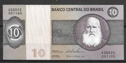 Brésil: 10 Cruzeiros  (jamais  Circulé , Neuf) A 06826  -057465 - Brésil