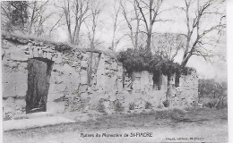 SAINT FIACRE - Ruines Du Monastère - Francia