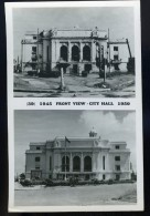 Cpa Carte Photo Des Philippines  - Manila -- 1945 Front View City Hall 1950  Manille     FRM 5 - Philippines