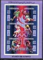 1996 Libya Olympics Sheetlets Complete Set 6 Values  MNH  (Or Best Offer) - Libië
