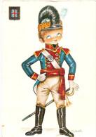 PK. UNIFORMES EUROPEOS  - INGLATERRA - NR 3044/6 - Costumi