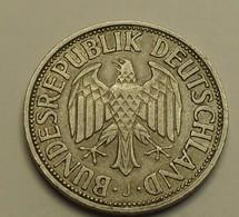 1950 - Allemagne - Germany - 1 MARK, (J) - KM 110 - [ 7] 1949-… : RFA - Rép. Féd. D'Allemagne