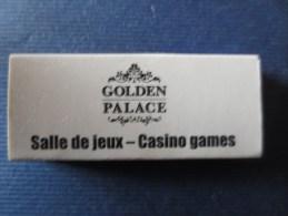 Boite D'allumettes GOLDEN PALACE - Casino