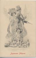 """ILLUSTRATEUR  -  M.M. VIENNE  -  VIENNOISE   -  """" Joyeuses Paques  """"  -  N°179 - Vienne"""