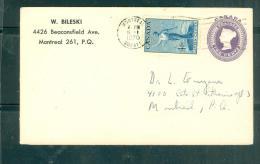 Entier Two Cents  Avec Affranchissement Complémentaire ( 4 Cents)  En Port Local En 1970 - Am10002 - 1952-.... Règne D'Elizabeth II
