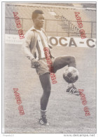Au Plus Rapide Football Légende OM Olympique Marseille Marius Trésor Publicité Coca Cola Stade Vélodrome - Sports