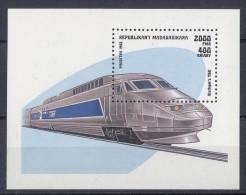 Madagascar - 1993 Locomotives Block MNH__(TH-13525) - Madagaskar (1960-...)