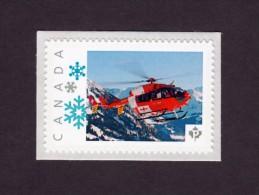 HELICOPTER,HUBSCHRAUBER, HELICÓPTERO, HÉLICOPTÈRE,  ELICOTTERO  Picture Postage MNH Stamp. Canada 2014 [p7av3/3] - Hubschrauber