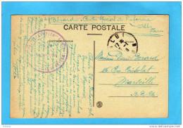 Guerre-14-18sce Santé-cachet Hopital ComplémentaireN°54 Spécial Réforme ALBI    -sur Carte Jan  1918 - Marcophilie (Lettres)