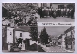 CIVITA - COSENZA - SOUVENIR CON 4 BELLE VEDUTINE - Cosenza
