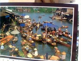THAILAND FLOATING MARKET  MERCATO SU BARCHE  N19906 EU17724 - Tailandia